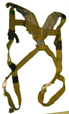 Special Safety Harness Assembly with Snap Clips