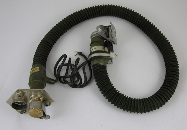 Oxygen Hose with Integrated Communications Wiring