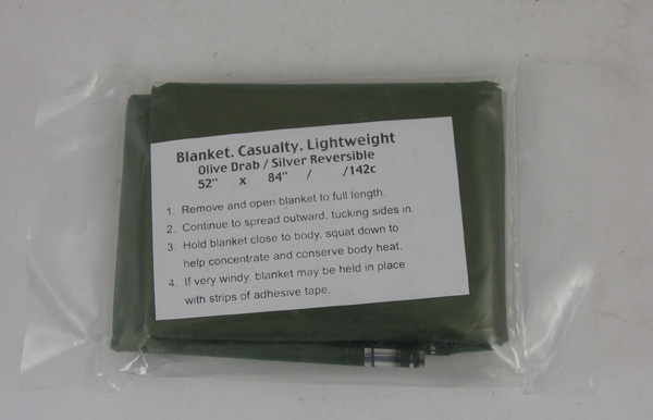 Survival Kit Lightweight Caualty Blanket
