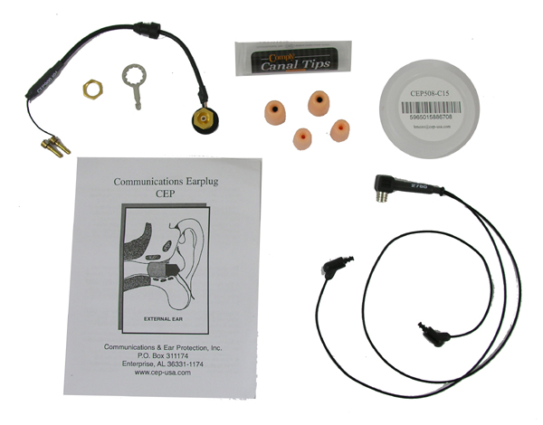 Communications Ear Plugs (CEP) Complete Kit