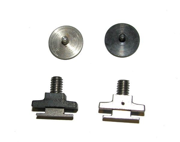 Flight Helmet Visor Knob Screw and Nut