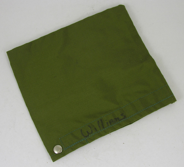 Oxygen Mask Cloth Cover with attachment snap