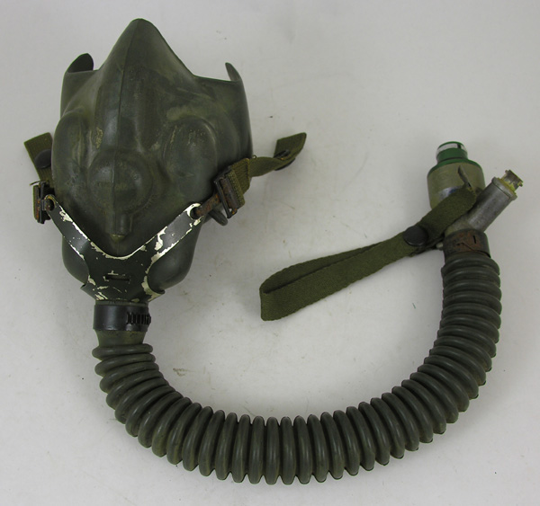 RARE A-13A Oxygen Mask with US Navy Y yoke
