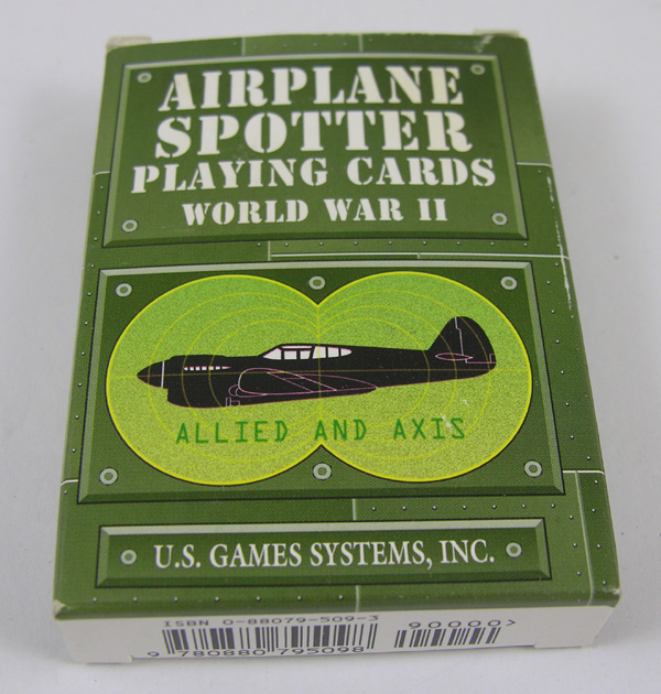 WW2 Airplane Spotter Cards