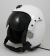 New Civilian HGU-55/P Kevlar Flight Helmet with Single Visor Assembly - Choose Color