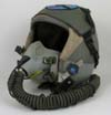 USAF HGU-55/P Flight Helmet with original squadron marked visor cover and MBU-12/P Oxygen Mask