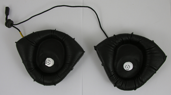 Flight Helmet Leather Earcup Assembly