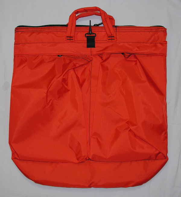 Military Flight Helmet Bag - Orange