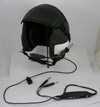 New Civilian HGU-55/P Kevlar Flight Helmet with Lightspeed Helmet ANR System Installed