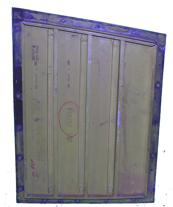 Aluminum Aircraft Door Panel