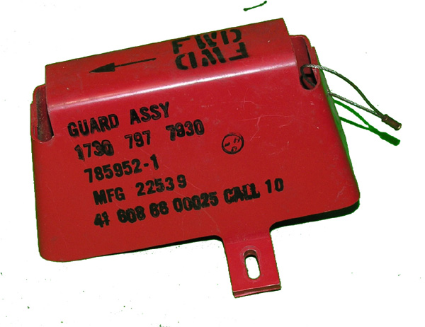 Aircraft Remove Before Flight Guard Assembly