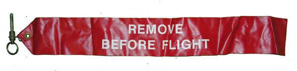 Aircraft Remove Before Flight Flag