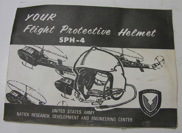SPH-4 Flight Helmet Booklet