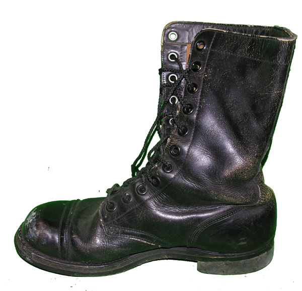 USAF Leather Flight Boot