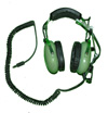David Clark Headset with military impedance electronics and U-174 Plug