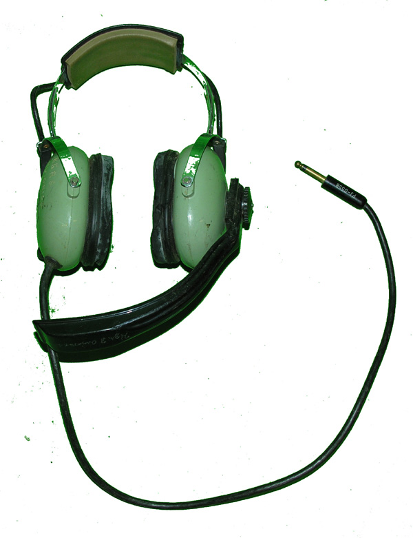 David Clark Headset with unusual boom microphone