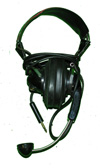 Military Headset with microphone and great painting artwork on headband