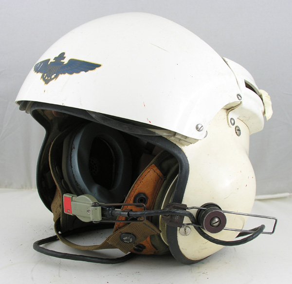 US Navy SPH-3 Dual Visor Helmet with US Navy insignia