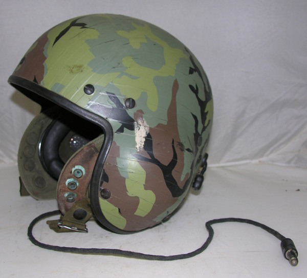 US Army SPH-4 Flight Helmet with Camo Tape