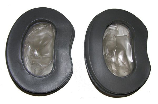 HGU-2A/P Gray Earseals for use with foam liner