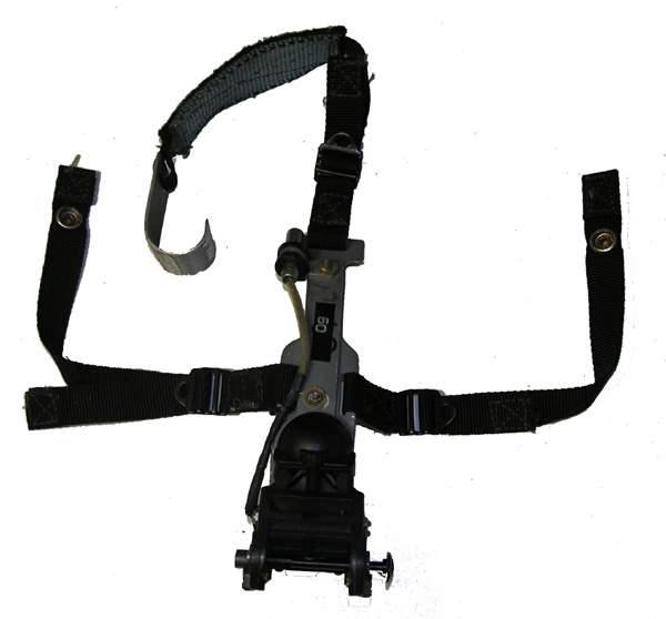 HGU-55/P NVG Quick Mount with NVG mount