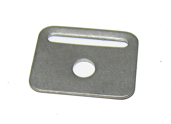 Flight Helmet or GI Helmet Suspension Mounting Plate
