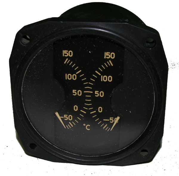 AN-5795 B-25 Dual Temperature Guage