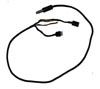 Helmet Cord, CX-4435/AIC, Straight Drop Cord for Boom Microphone and Helmet Earphones