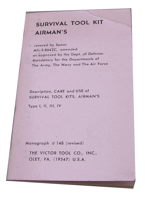 Airmen's Survival Tool Kit Manual
