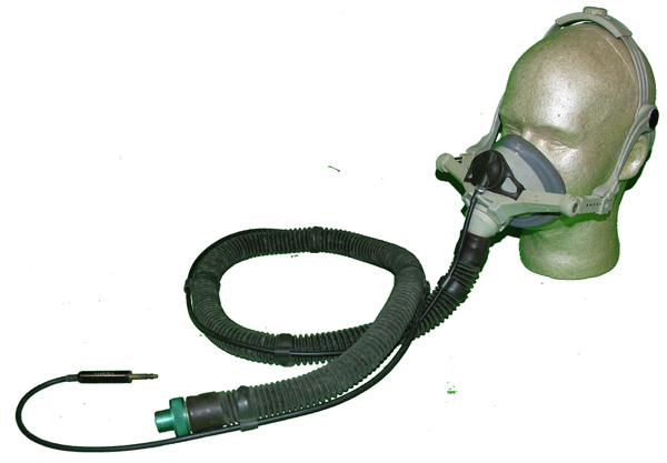 Aircraft Emergency Quick Donn Oxygen Mask with microphone and aircraft oxygen hose