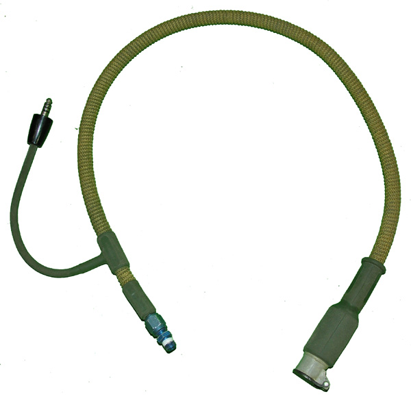 Oxygen Hose with integrated communications cord