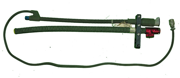 Oxygen Hose with integrated communications cord and Air Hose