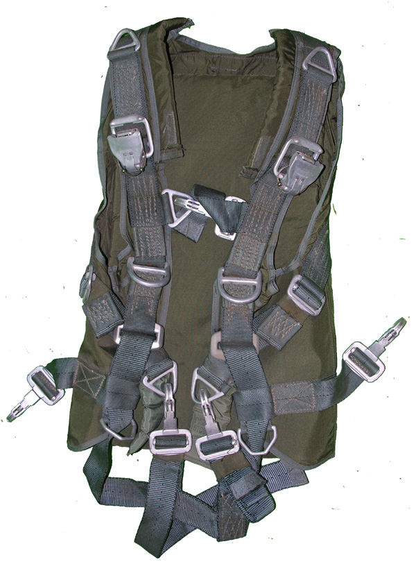 Troop Quick Attachable Back Parachute Harness
