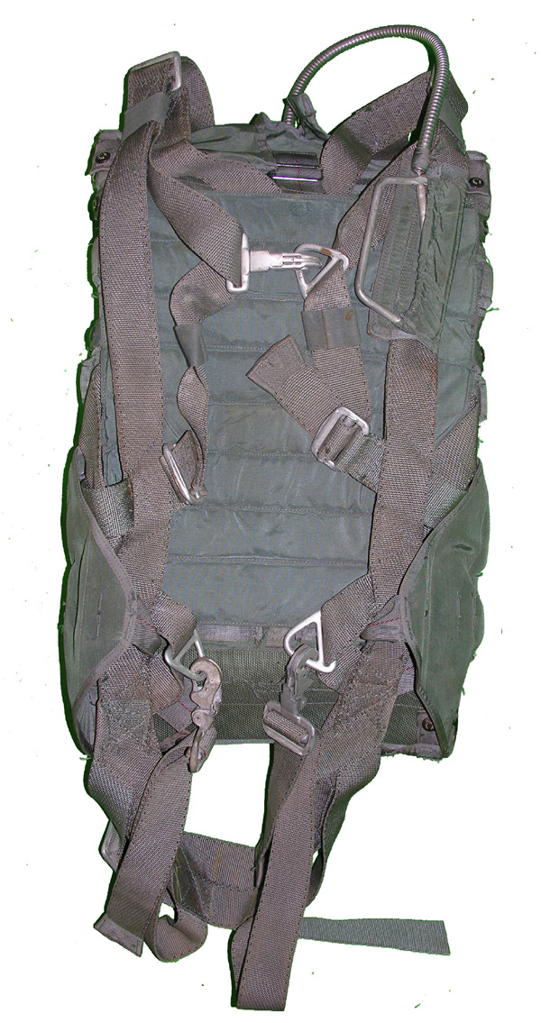 US Navy Back Parachute
