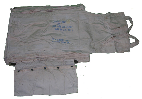 28' Parachute Canopy Launching Sleeve