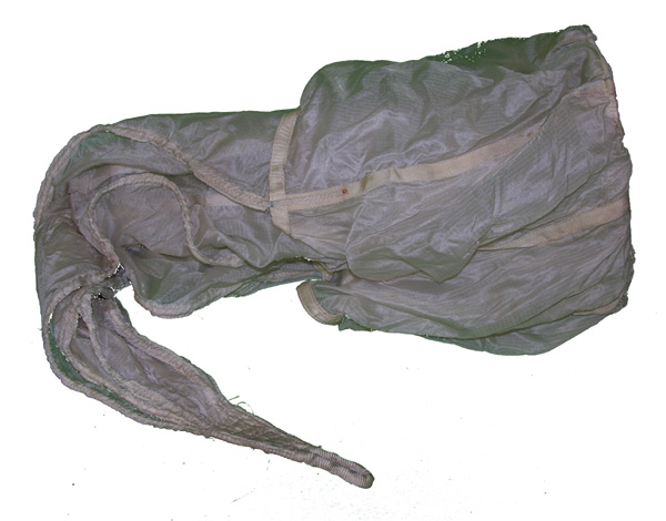 US Navy Back Parachute Spring Loaded Pilot Chute