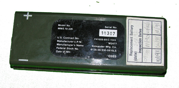 RT-10 Radio Battery