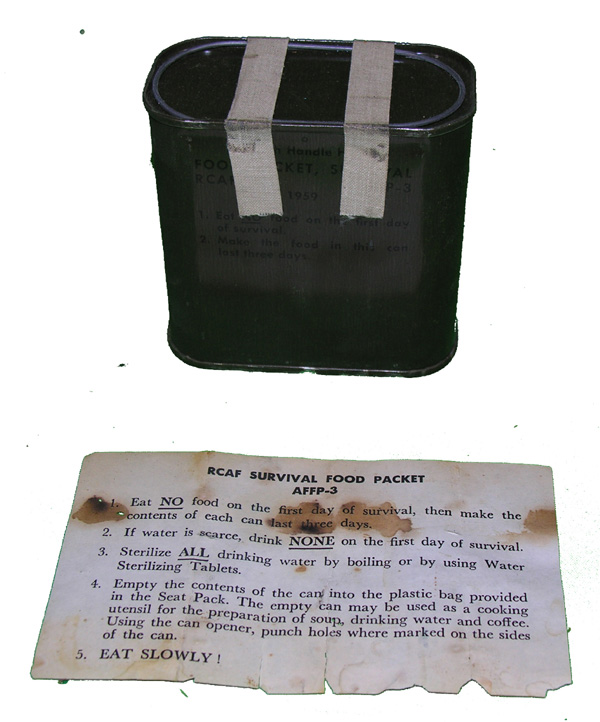 RCAF Survival Food Packet