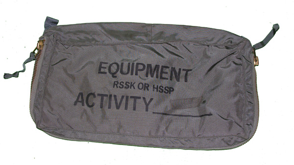 Ejection Seat Survival Kit RSSK Equipment Container