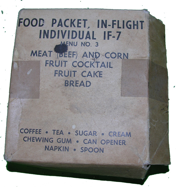 IF-7 Individual Food Packet for In-Flight