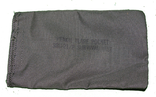 SRU-21 Survival Vest Flare Pocket
