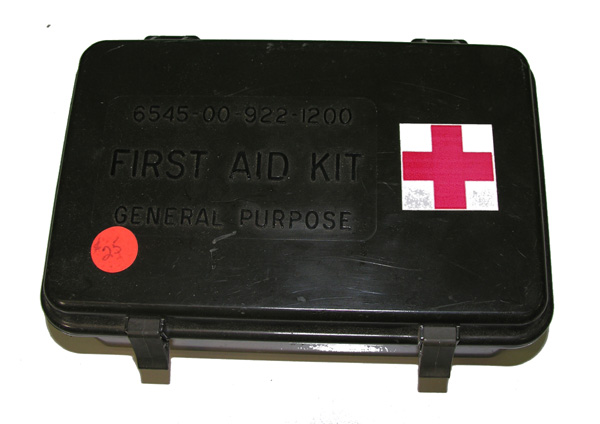 General Purpose First Aid Kit with contents