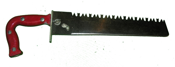 USAF Survival Saw Handle and Blade