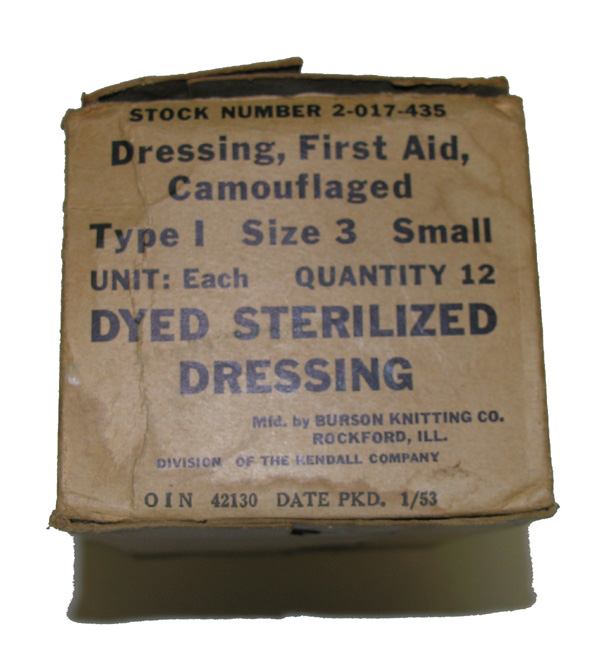 First Aid Kit Camo Dressing