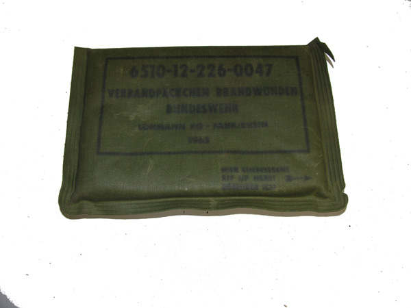 German First Aid Package