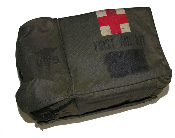 Aircraft First Aid Kit with contents