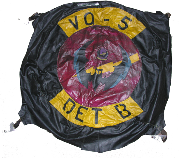 Aircraft Cover with VQ-5 Squadron Insignia