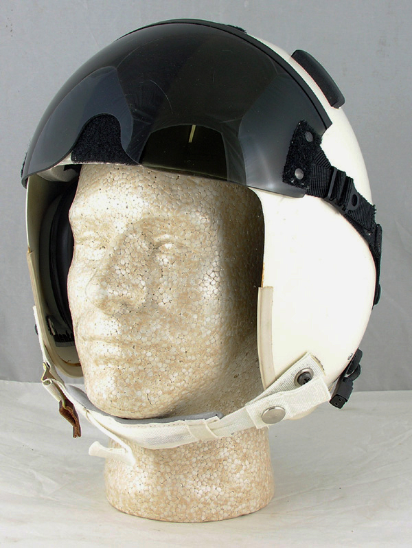 Unissued HGU-22/P Flight Helmet with Bungee Visor Assembly