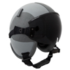 New Kevlar Fixed Wing Flight Helmet with Bungee Visor Assembly