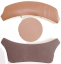 Brown HGU Flight Helmet Fitting Pad Set